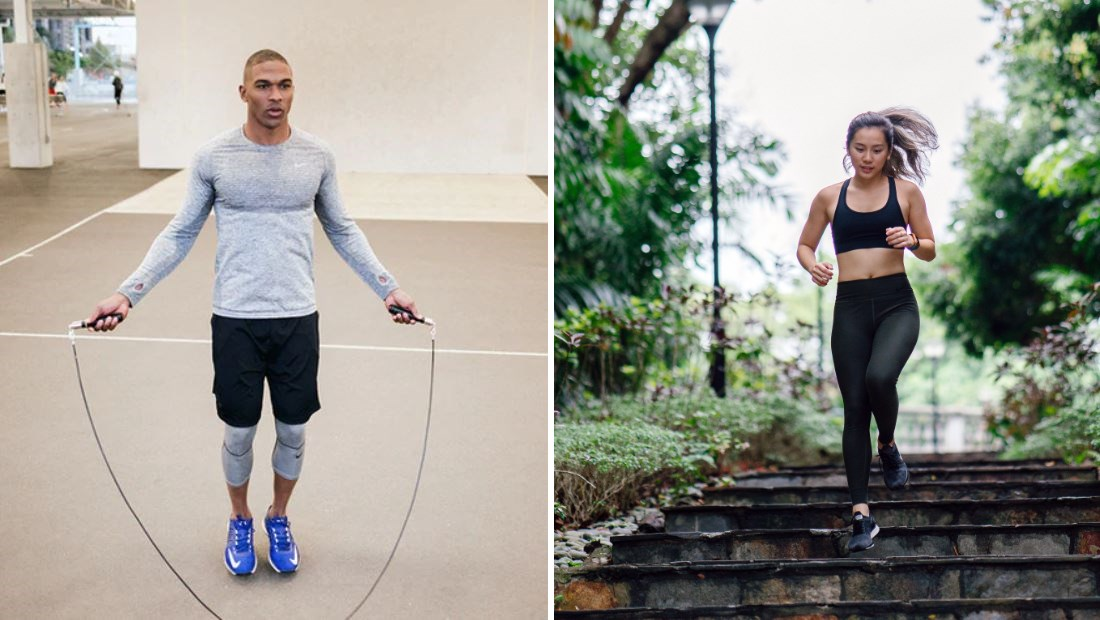 Jump Rope vs Running