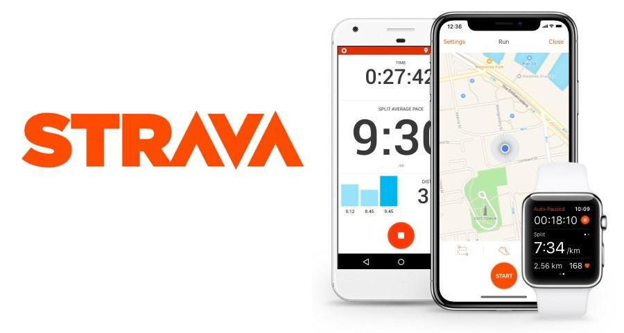 Strava Running App