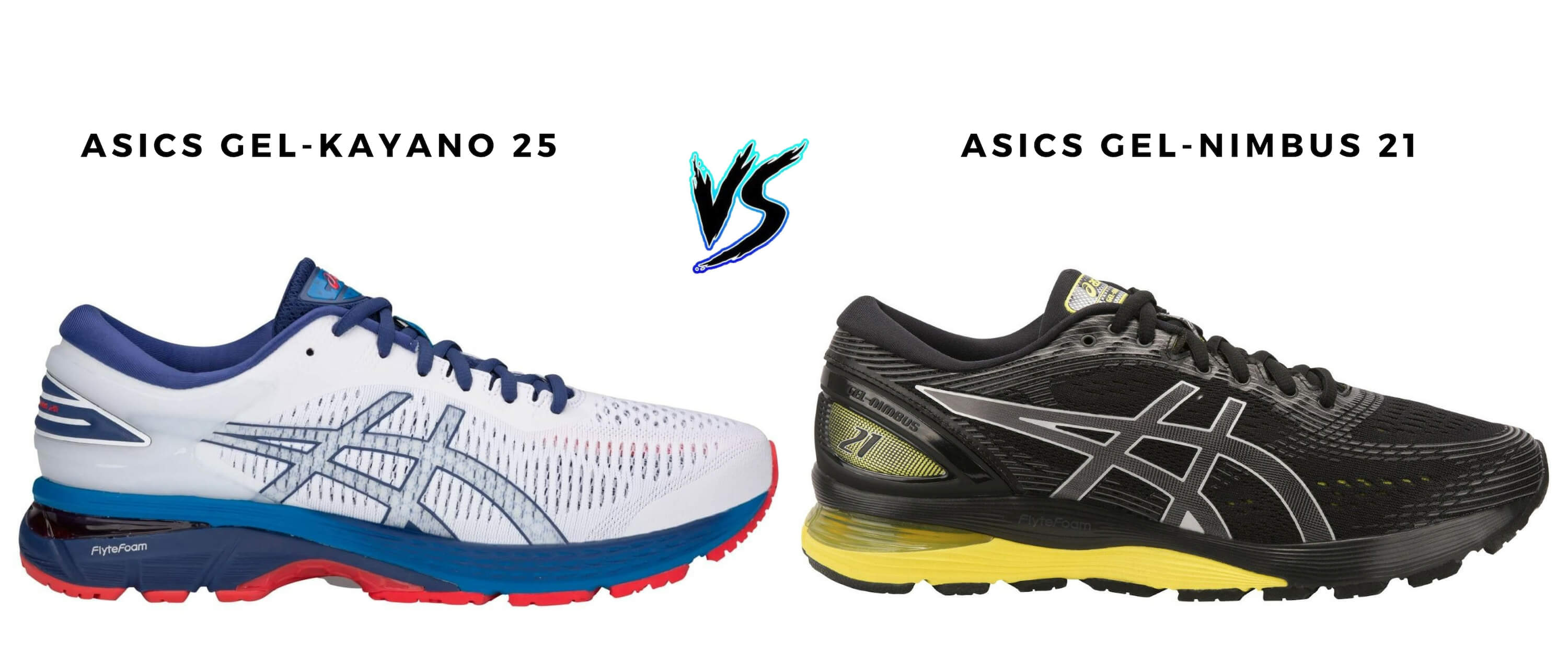 Asics Kayano 25 vs Nimbus 21 2019 Edition