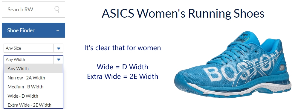asics running shoes e width size off 60% www