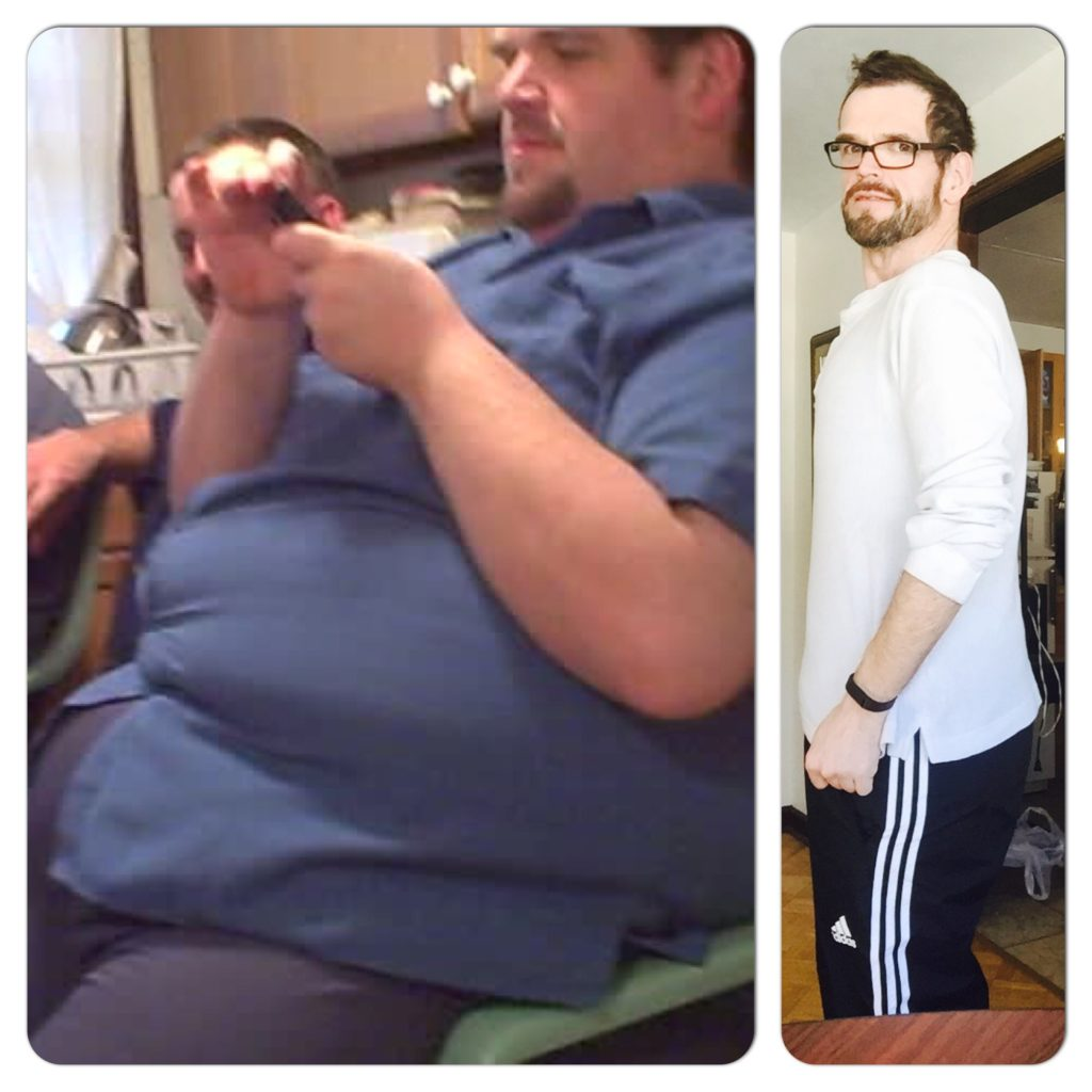 336 lbs weight lost over 5 years