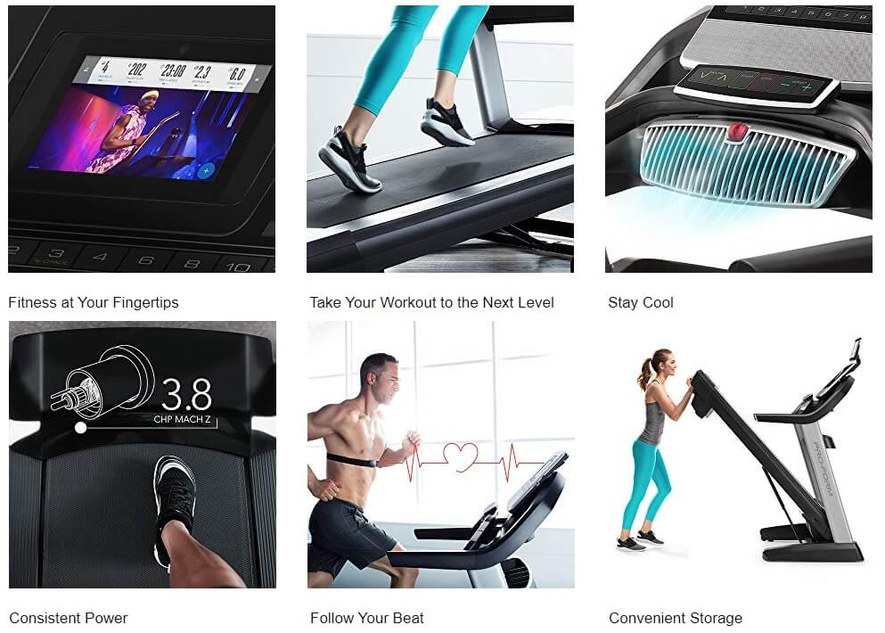 Proform_5000_Treadmill Features