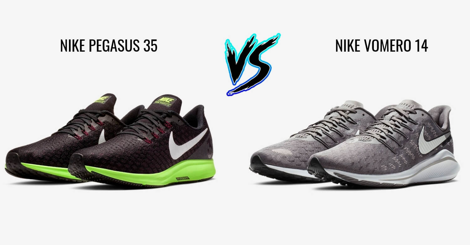 best loved 1a63b b4702 Nike Pegasus 35 vs Vomero 14 - Which Is Better? - 5KRunning.com
