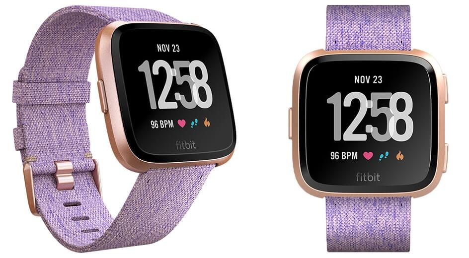 Fitbit Versa Premium Rose Gold Edition