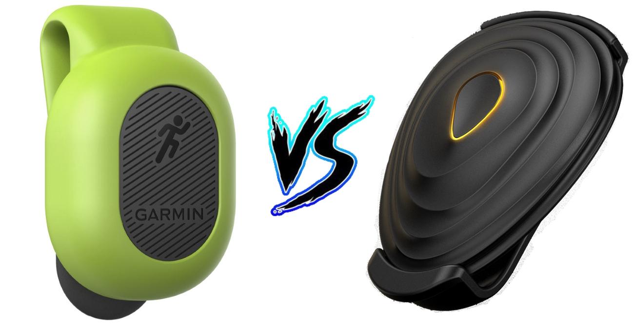 Stryd vs Garmin Foot Pod