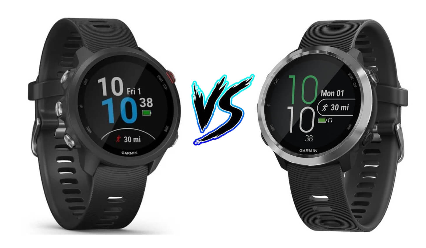 Garmin Forerunner 245 vs Forerunner 645 – Product Comparison