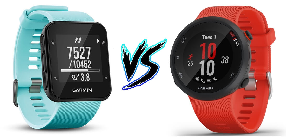 Garmin Forerunner 35 vs Forerunner 45 - Product Comparison