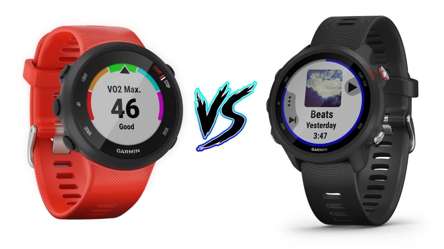 Garmin Forerunner 45 vs Forerunner 245 – Comparison