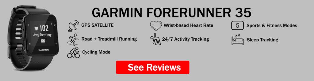 Garmin Forerunner 35 Features Summary