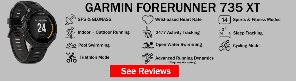 Garmin Forerunner 735XT Features Summary