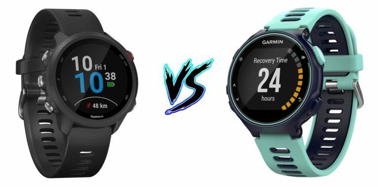 Garmin Forerunner 245 vs Garmin Forerunner 735XT