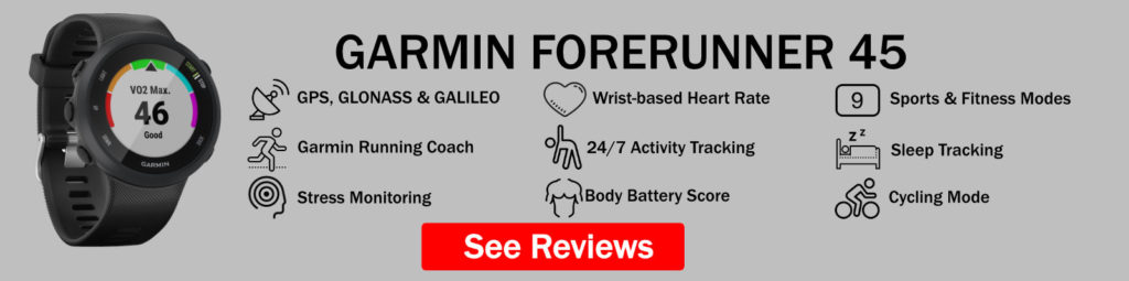 Garmin Forerunner 45 Features Summary