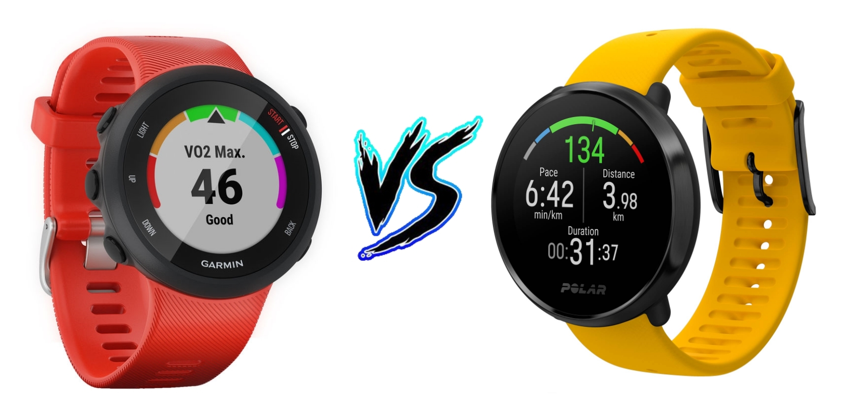 Garmin Forerunner 45 vs Polar Ignite