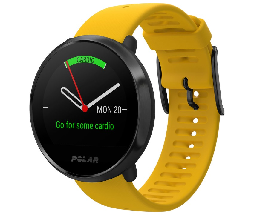 Polar Ignite Black Yellow 1