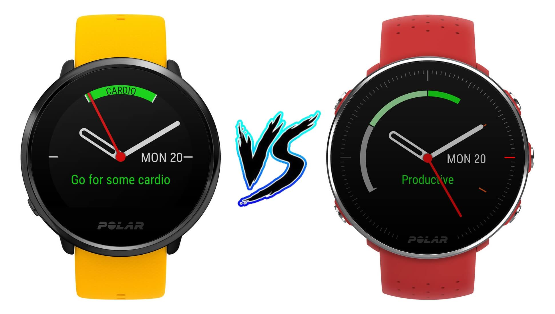 Polar Ignite vs Polar Vantage M