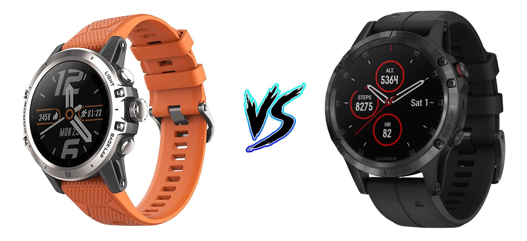 Coros Vertix vs Garmin Fenix 5 Plus