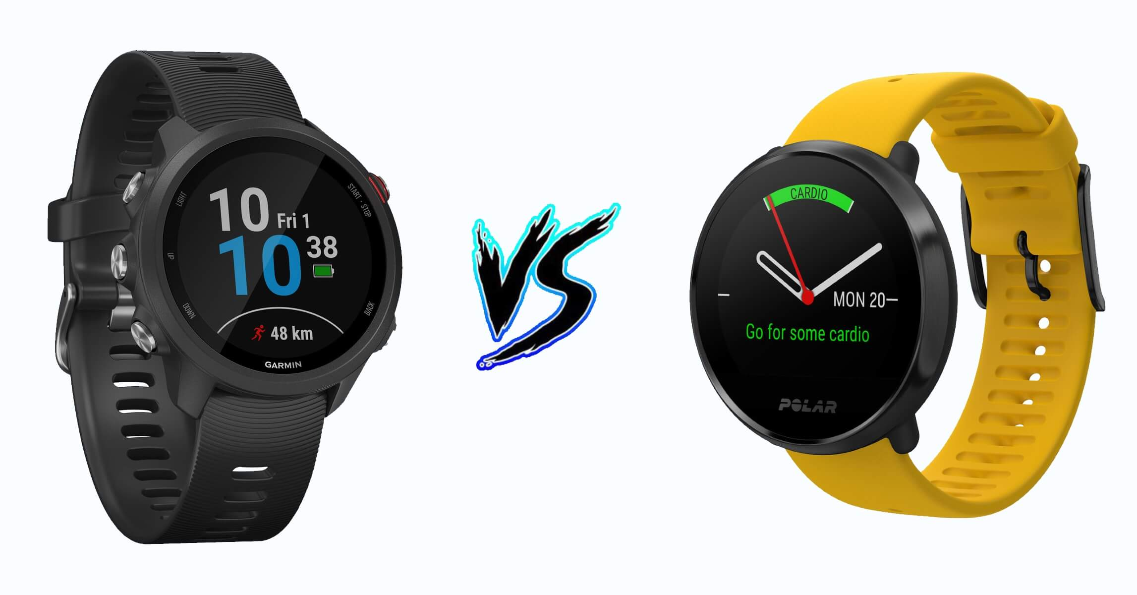 Garmin Forerunner 245 vs Polar Ignite