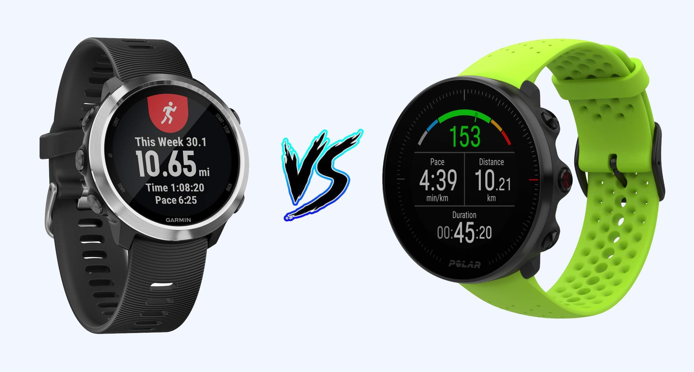 Garmin Forerunner 645 vs Polar Vantage M - Product Comparison