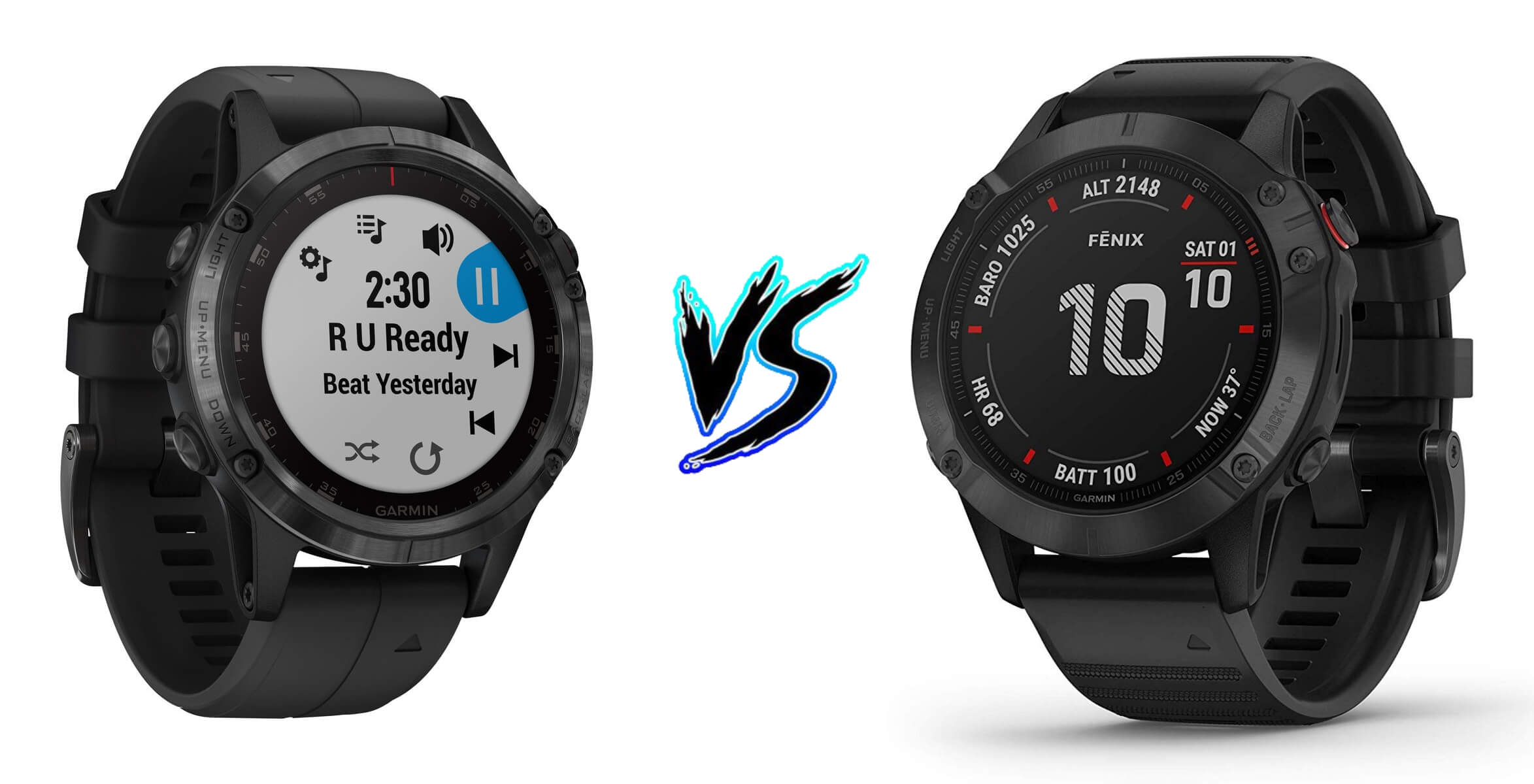 Garmin Fenix 5 Plus vs Garmin Fenix 6 Pro