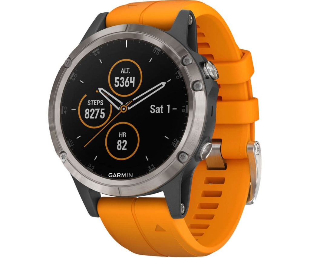 Garmin Fenix 5 Plus Solar