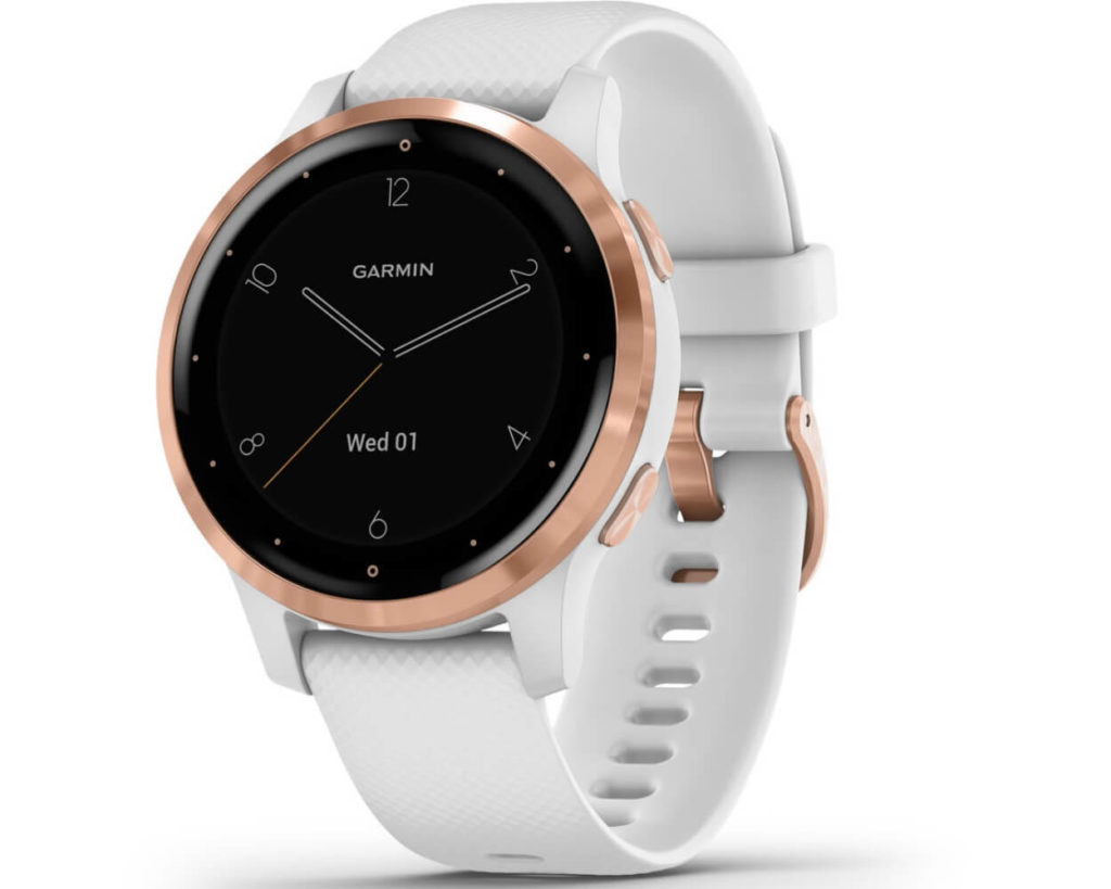 Garmin Vivoactive 4 White Rose Gold