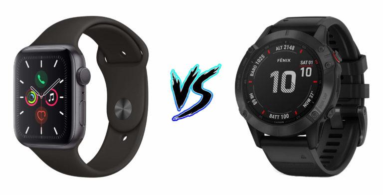 Apple Watch Series 5 vs Garmin Fenix 6