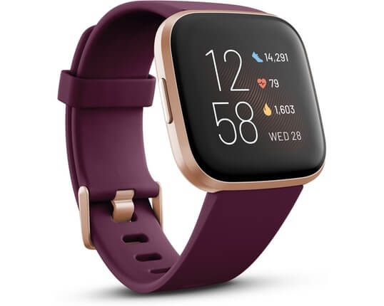 Fitbit Versa 2 Bordeaux Copper Rose