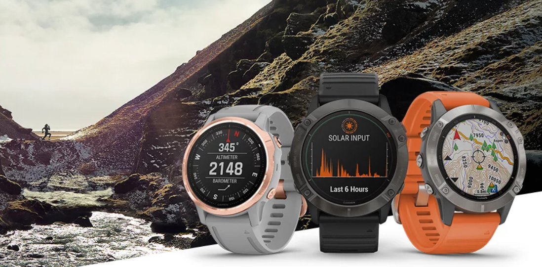 Garmin Fenix 6 Comparison Chart Main Image