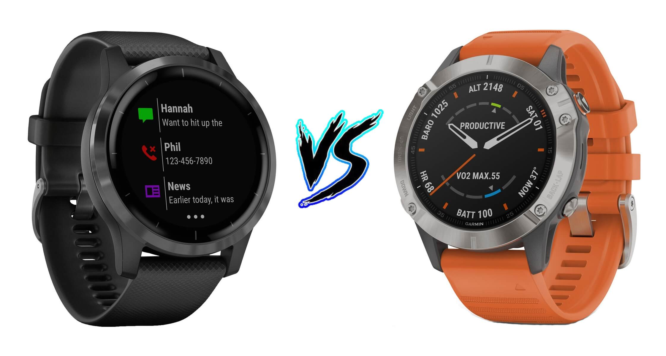 Garmin Vivoactive 4 vs Garmin Fenix 6 – Comparison