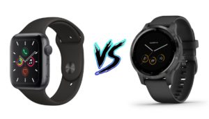 Apple Watch 5 vs Garmin Vivoactive 4