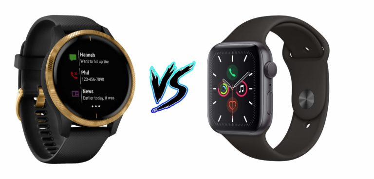 Garmin Venu vs Apple Watch Series 5