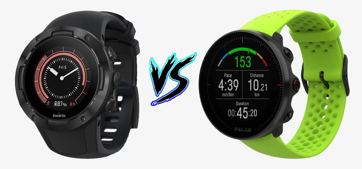 Suunto 5 vs Polar Vantage M – Comparison