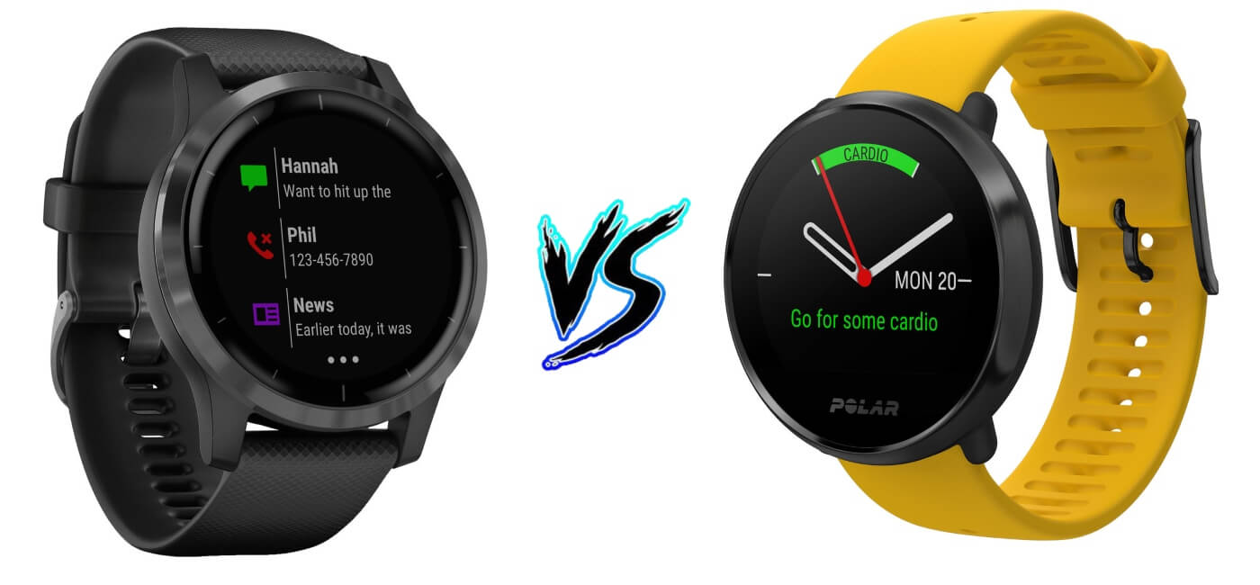 Garmin Vivoactive 4 vs Polar Ignite