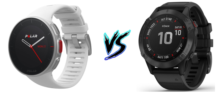 Polar Vantage V vs Garmin Fenix S Pro Sapphire
