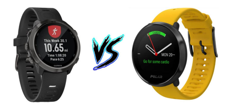 Garmin_Forerunner_645_vs_Polar_Ignite
