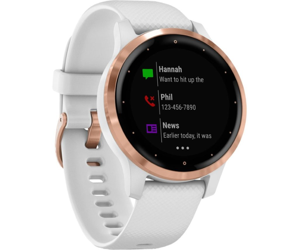 Vivoactive 4 White Rose Gold