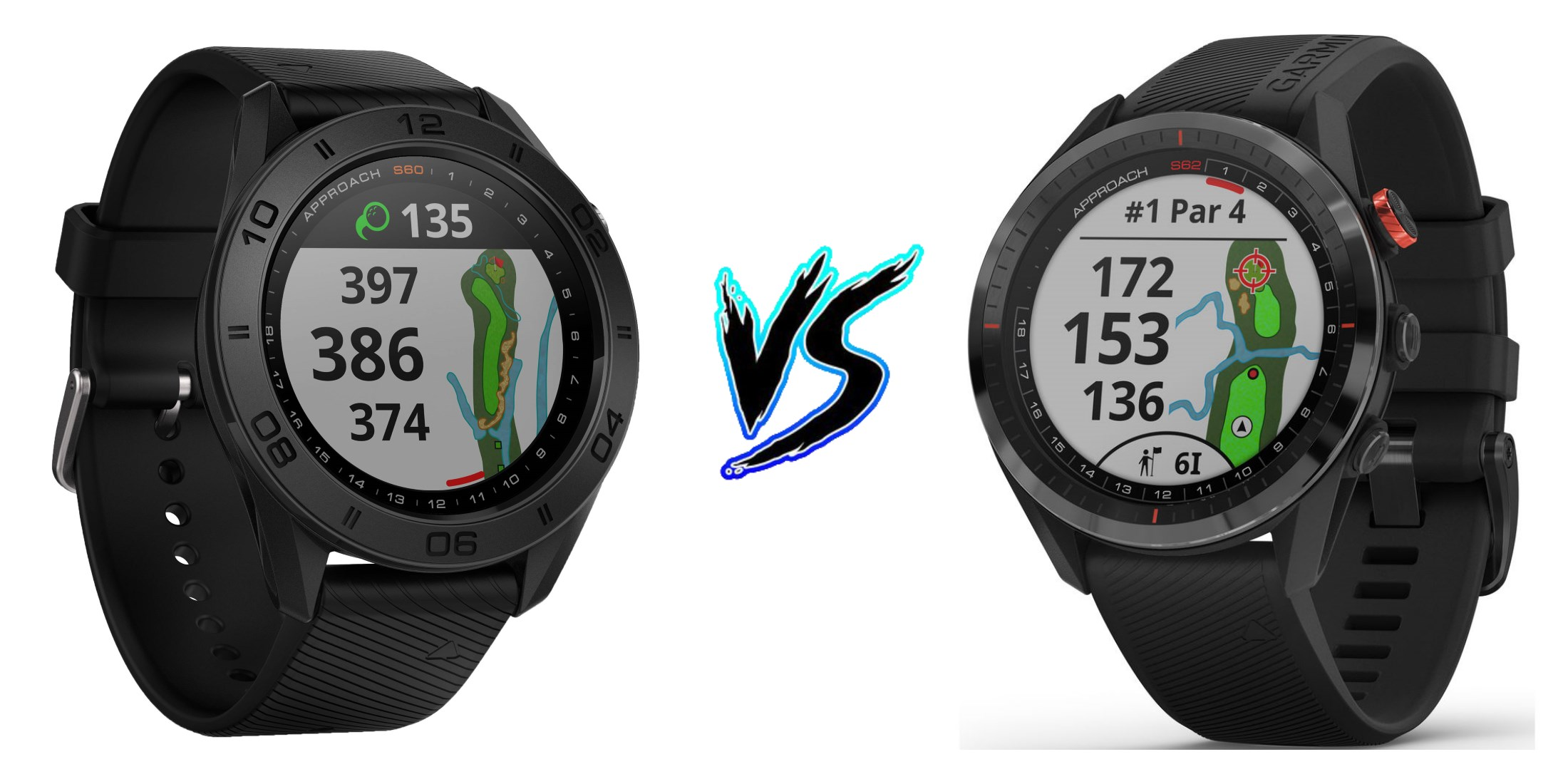 Garmin Approach S60 vs Garmin Approach S62 – Comparison