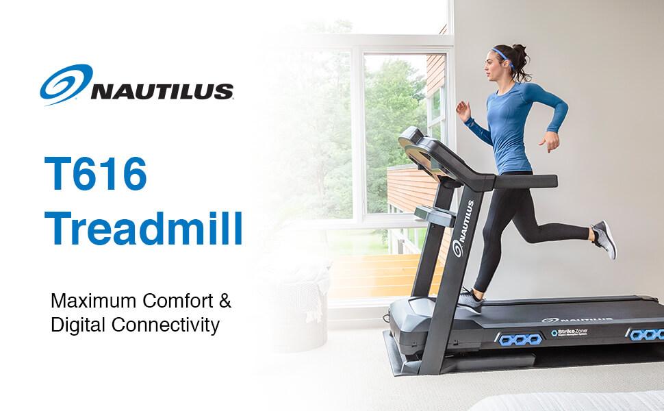 Main Reasons To Choose Nautilus T616 Treadmill