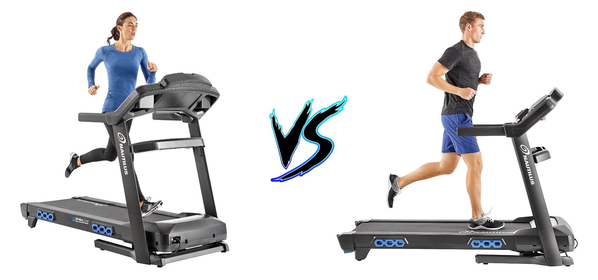 Nautilus T616 vs Nautilus T618 Treadmill Comparison