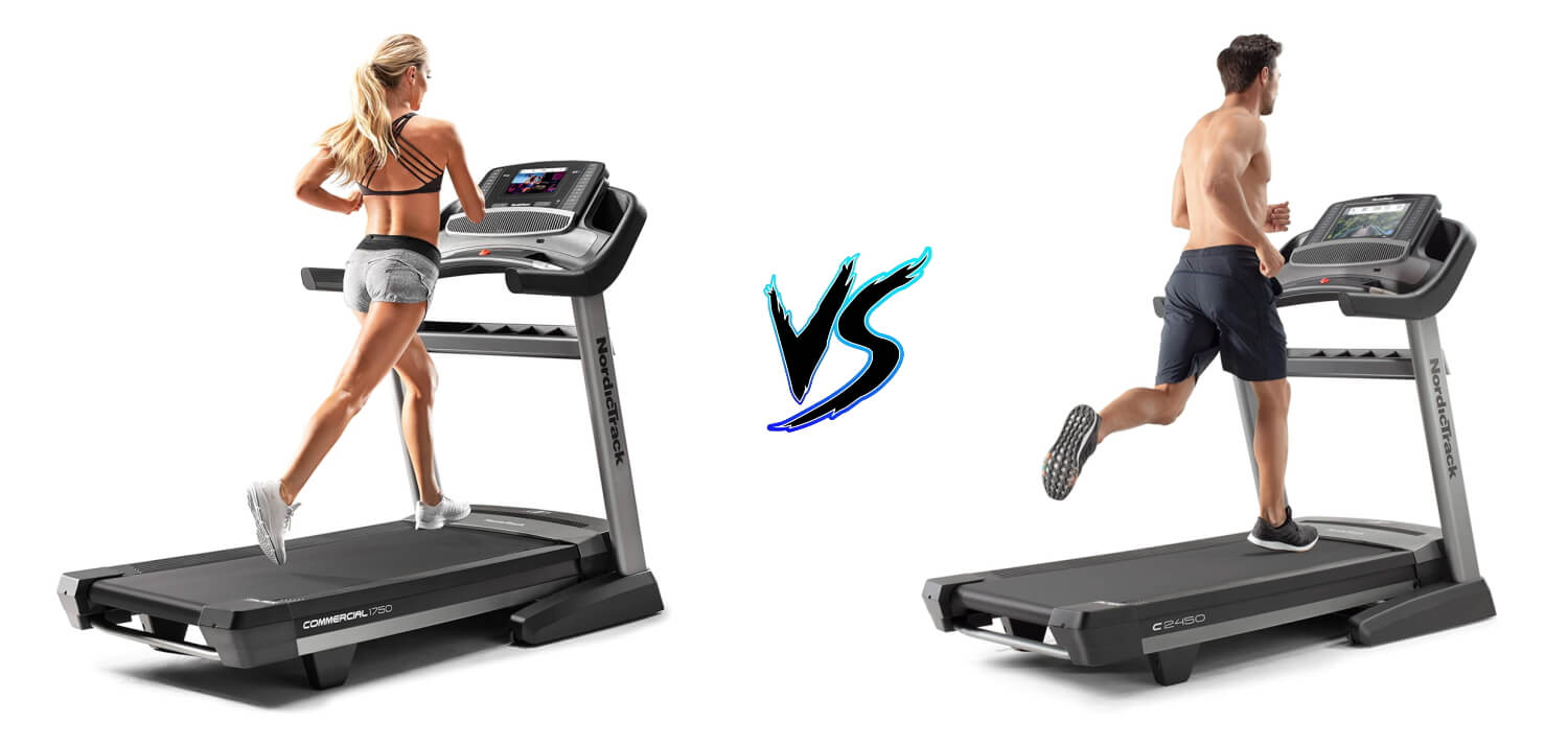 NordicTrack 1750 vs NordicTrack 2450 Treadmill Comparison