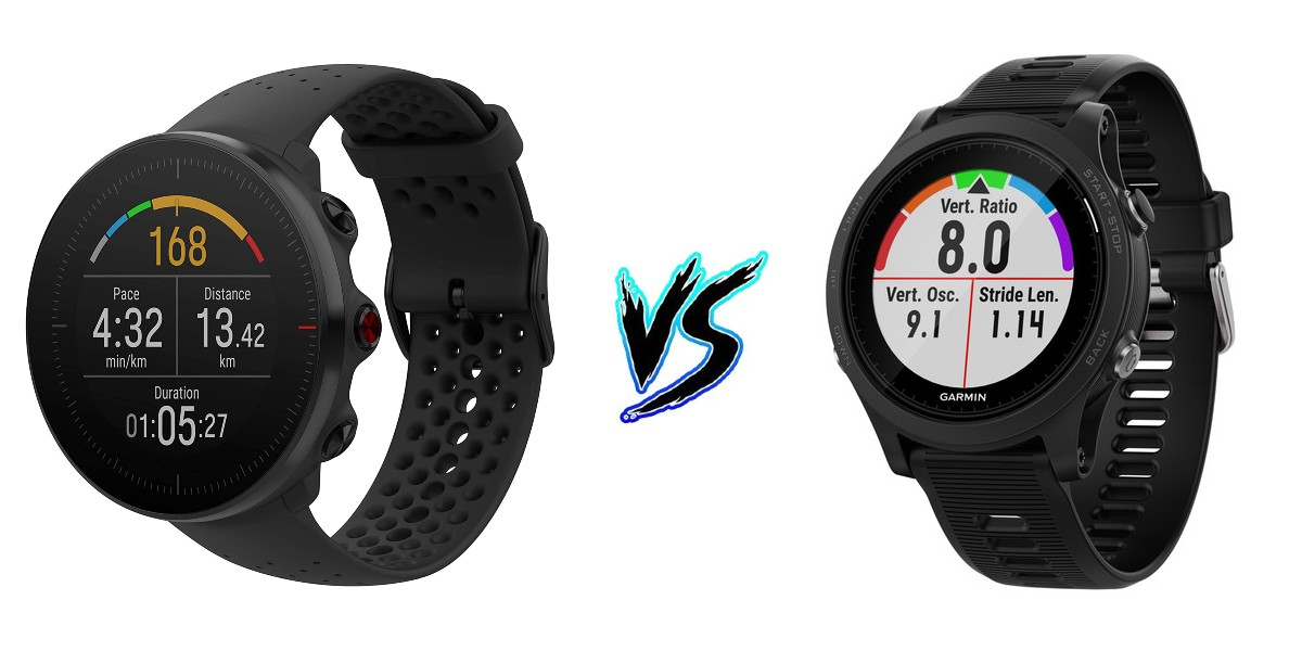Polar Vantage M vs Garmin Forerunner 935