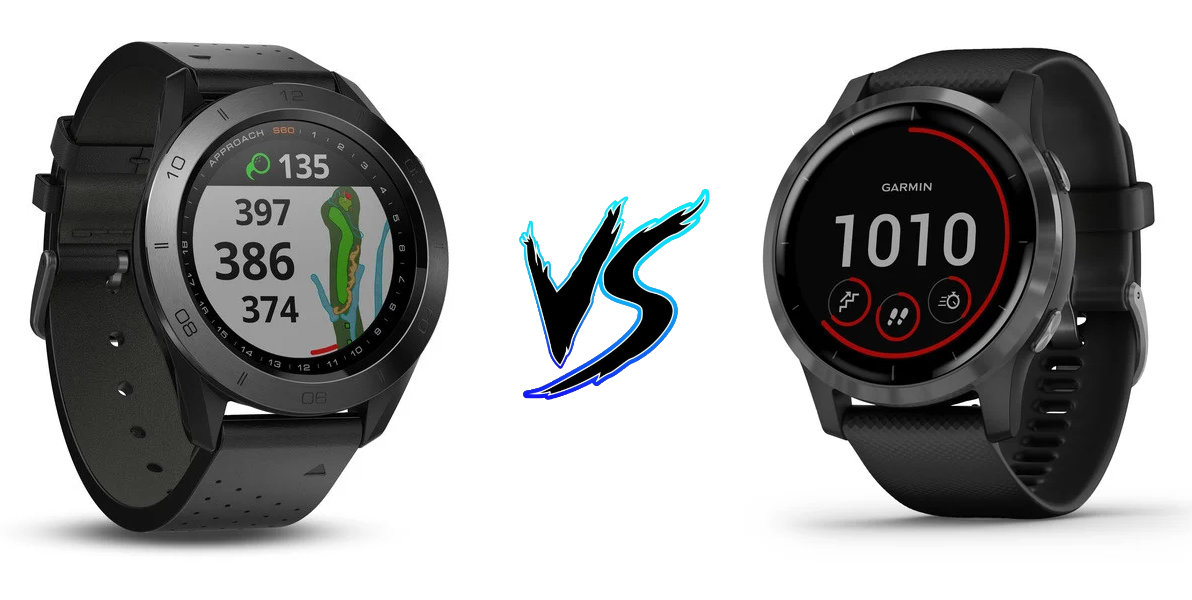 Garmin Approach S60 vs Garmin Vivoactive 4