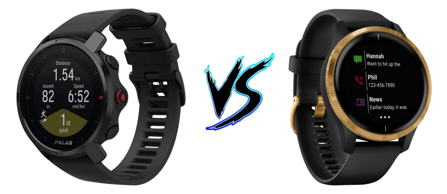 Polar Grit X vs Garmin Venu