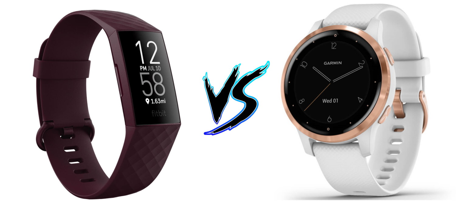 Fitbit Charge 4 vs Garmin Vivoactive 4S