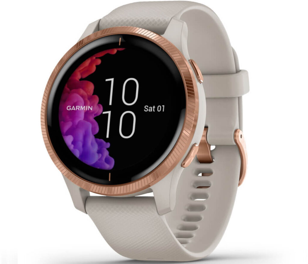 Garmin Venu Rose Gold 1