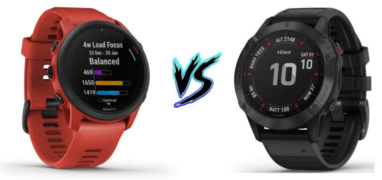 Garmin Forerunner 745 vs Fenix 6 Pro