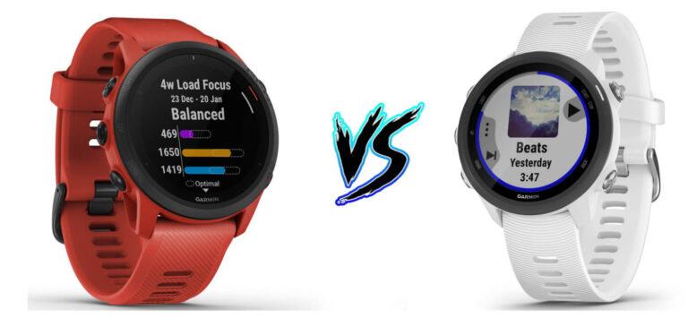 Garmin Forerunner 745 vs Garmin Forerunner 245 - Product Comparison