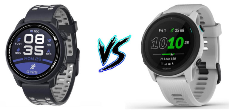 Coros Pace 2 vs Garmin Forerunner 745