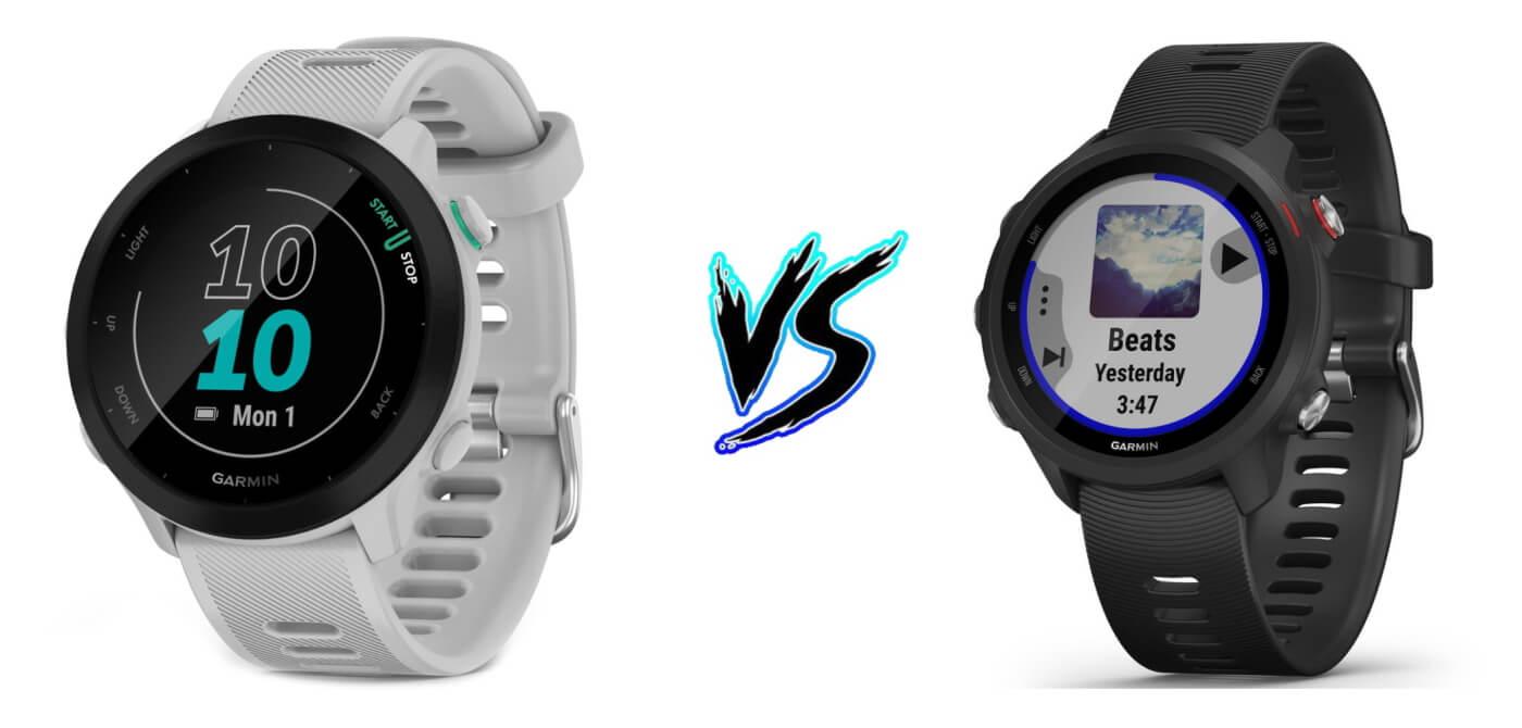Garmin Forerunner 55 vs 245 – Product Comparison