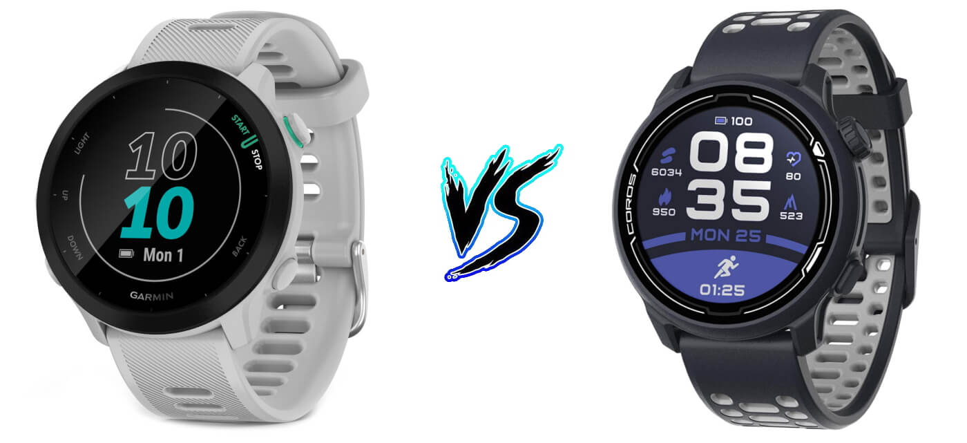 Garmin Forerunner 55 vs Coros Pace 2 – Comparison